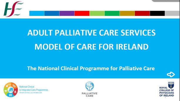 ADULT PALL CARE SEVICES MODEL OF CARE